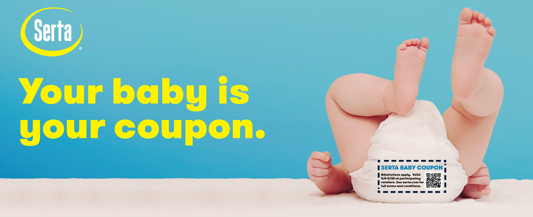 Your baby is your coupon.
