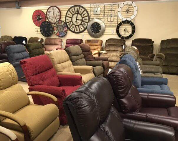 Wide Recliner Selection at Spector's Furniture Store!